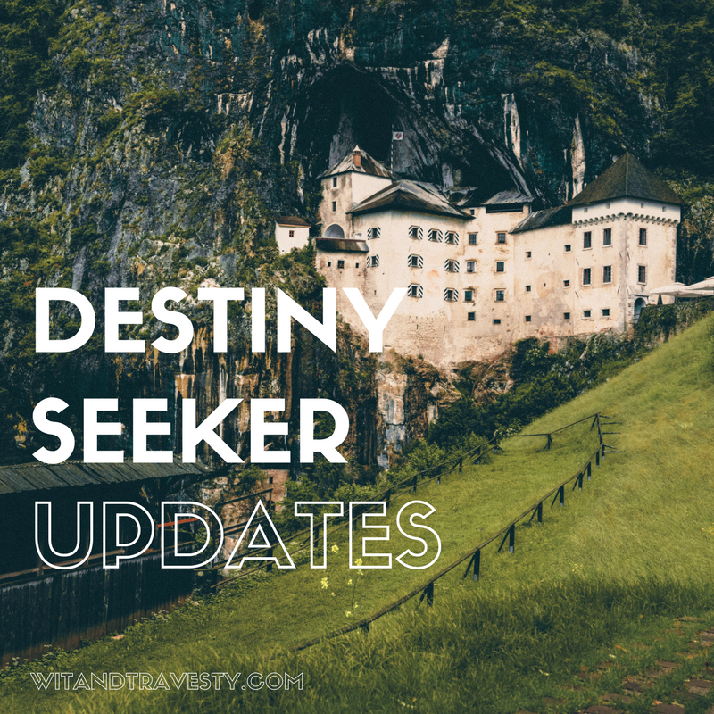 Destiny Seeker Updates