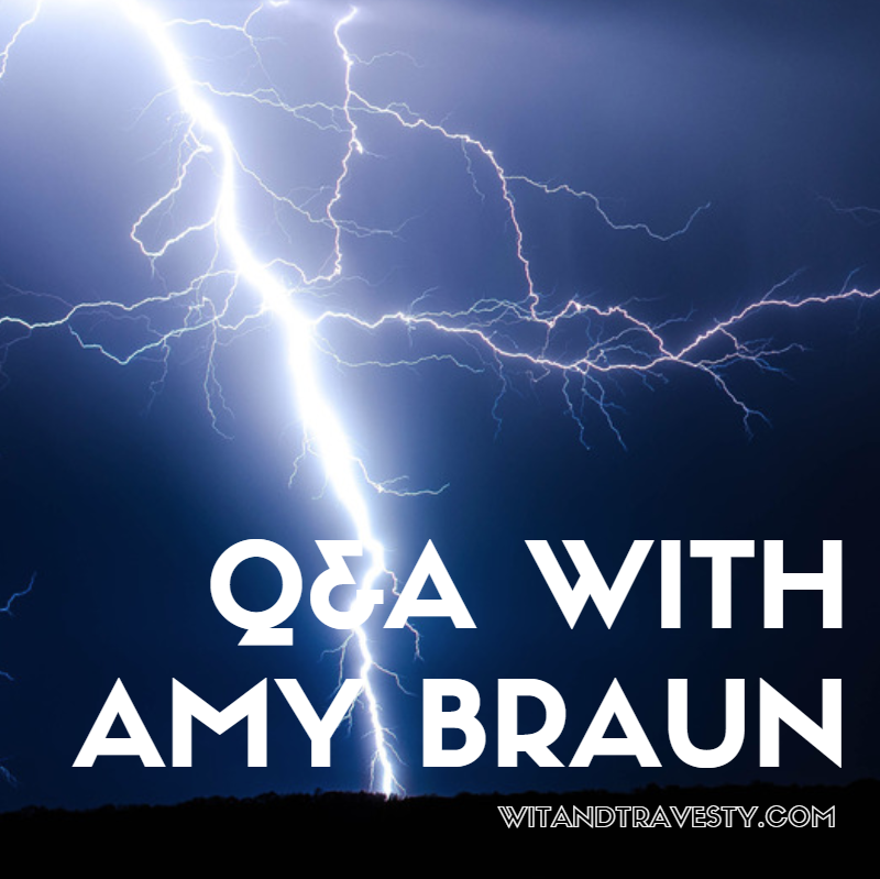 Q&A with Amy Braun about Storm of the Gods via wit and travesty