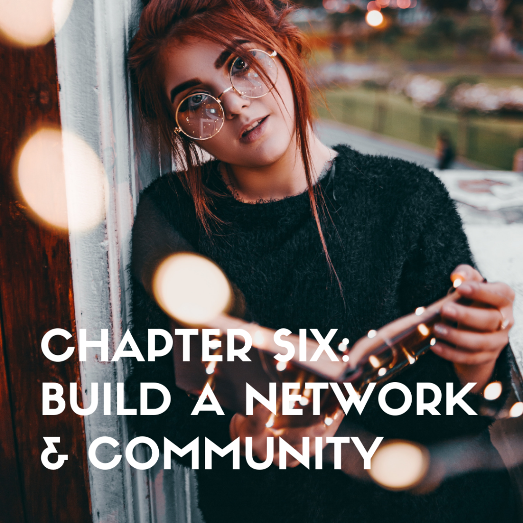 chapter six build a network and community
