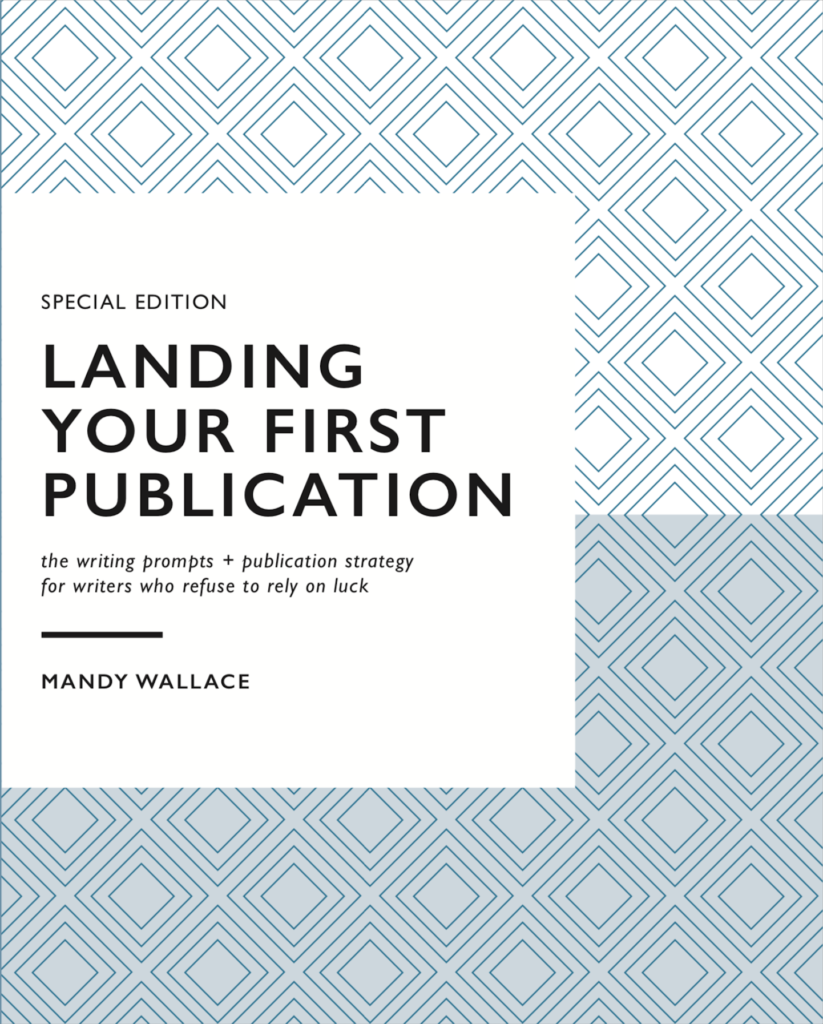 landing your first publication book cover and book review